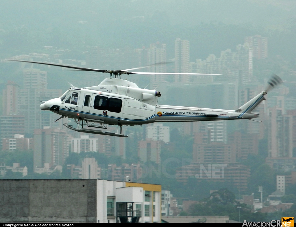 FAC-0006 - Bell 412EP - Fuerza Aérea Colombiana