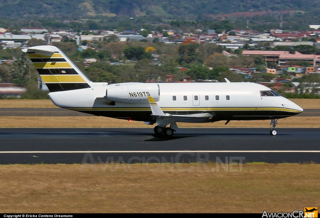 N619TS - Canadair CL-600-1A11 Challenger 600S - Privado