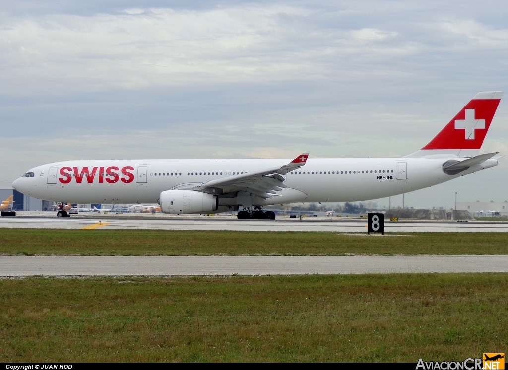 HB-JHN - Airbus A330-343X - Swiss International Airlines