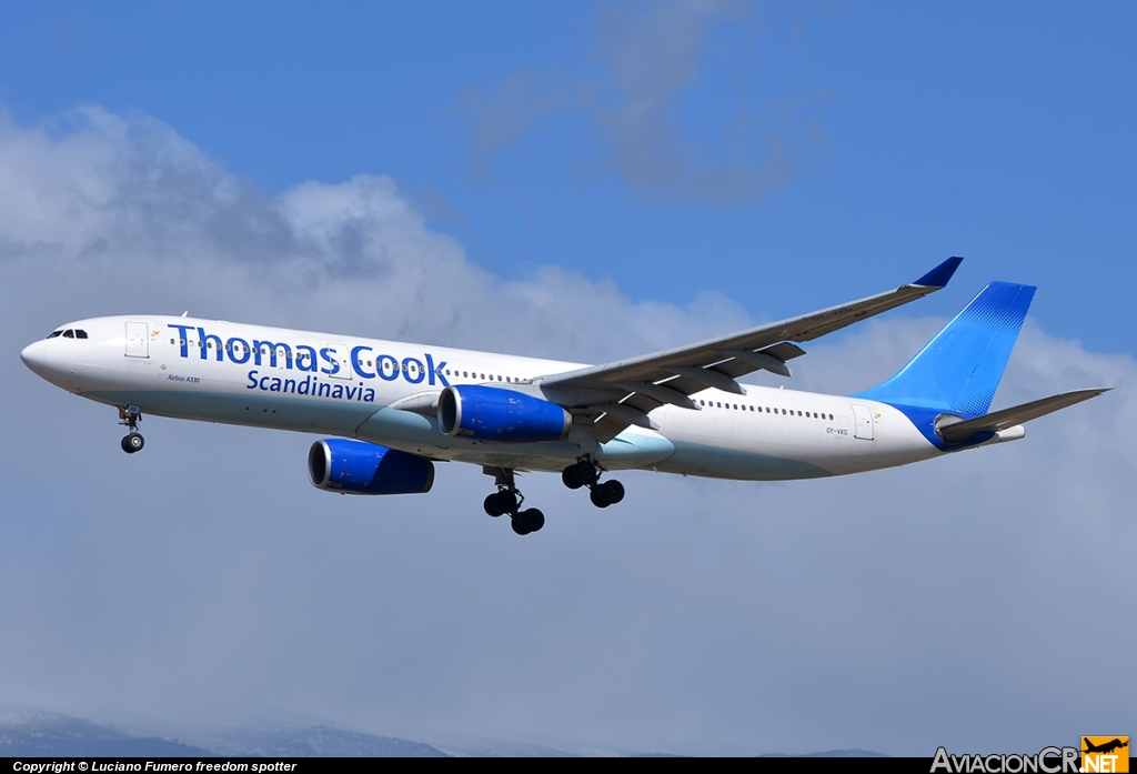 OY-VKG - Airbus A330-343X - Thomas Cook Airlines (Scandinavia)