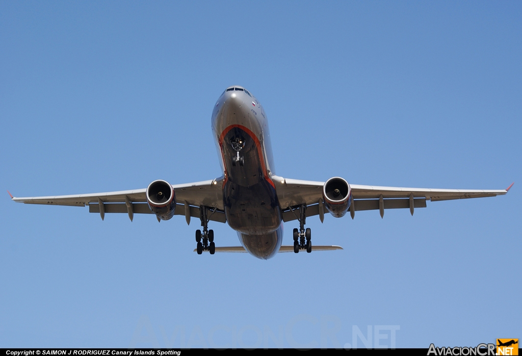 VQ-BEL - Airbus A330-343X - Aeroflot  - Russian Airlines