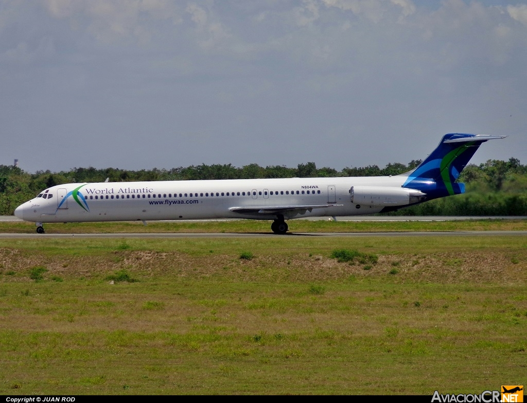N804WA - McDonnell Douglas MD-83 (DC-9-83) - World Atlantic Airlines