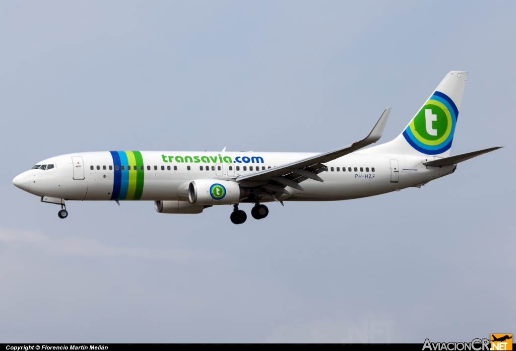 PH-HZF - Boeing 737-800 - Transavia Airlines