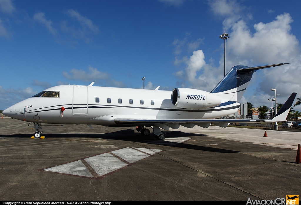 N650TL - Canadair CL-600-1A11 Challenger 600S - Privado