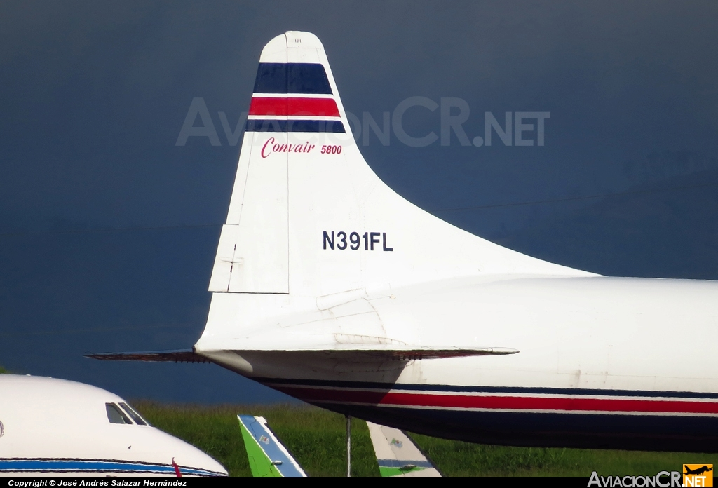 N391FL - Convair 340 - IFL Group