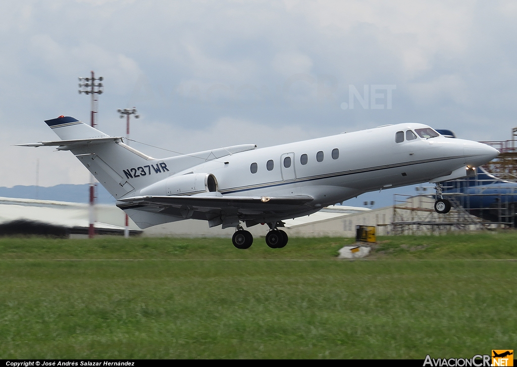 N237WR - British Aerospace BAe 125-700B - Privado