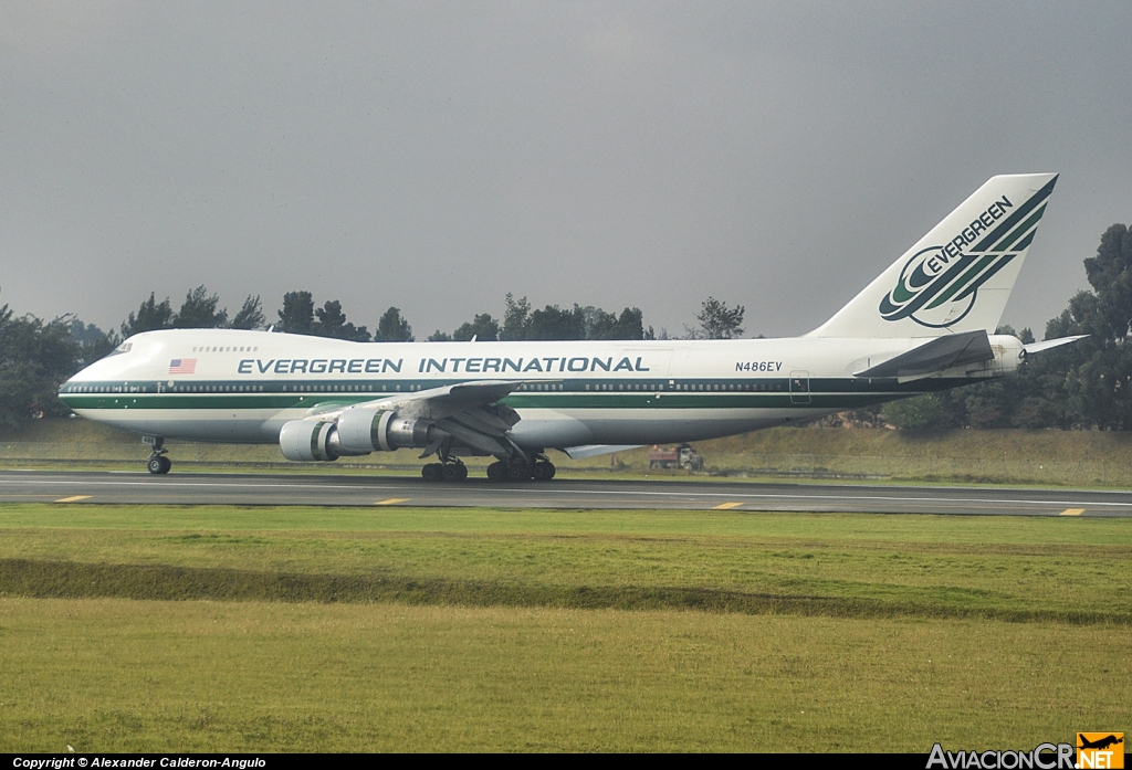 N486EV - Boeing 747-212B - Evergreen International