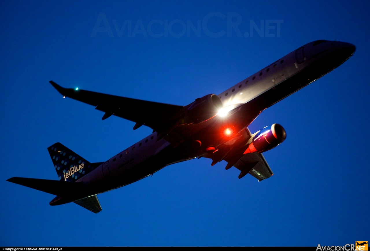 N281JB - Embraer 190-100IGW - Jetblue