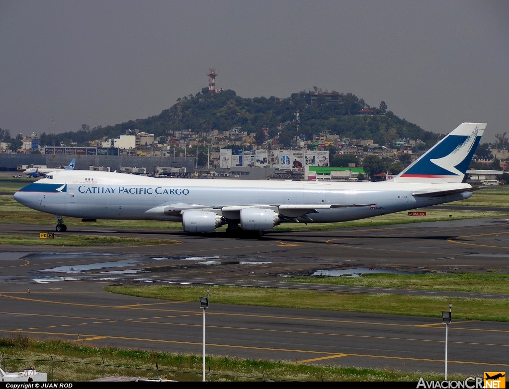 B-LJK - Boeing 747-867F/SCD - Cathay Pacific Cargo