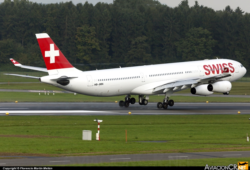 HB-JMN - Airbus A340-313X - Swiss International Air Lines