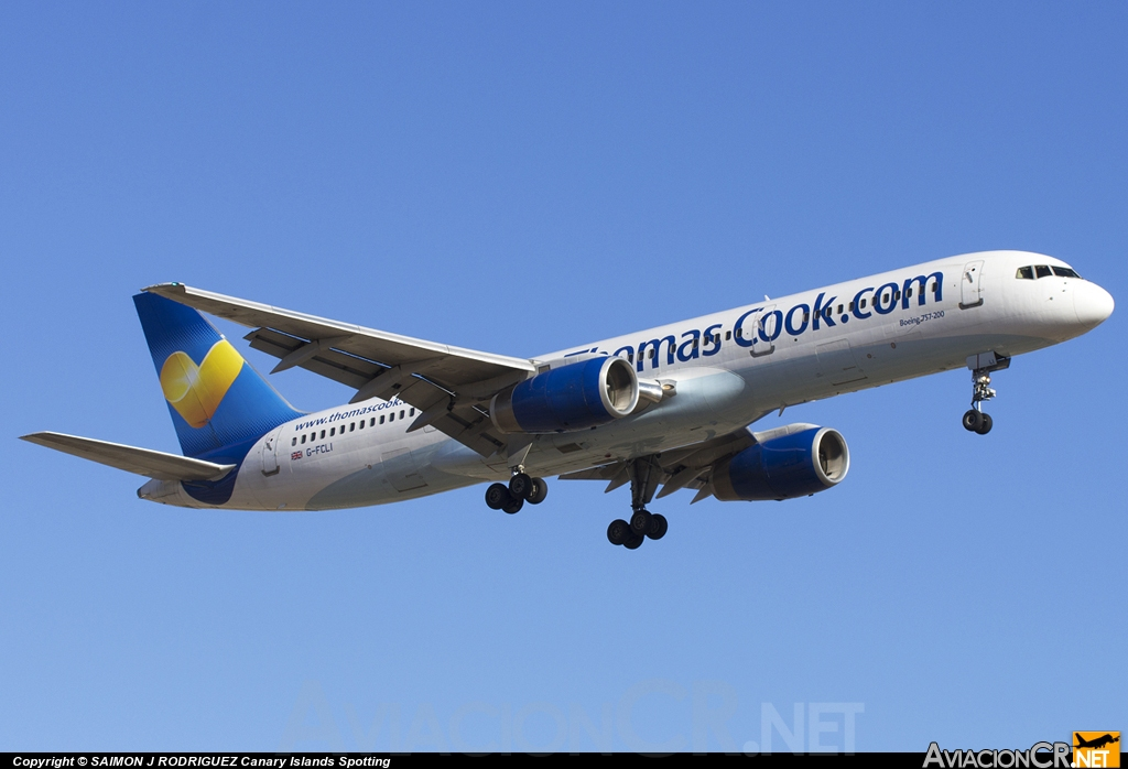 G-FCLI - Boeing 757-28A - Thomas Cook