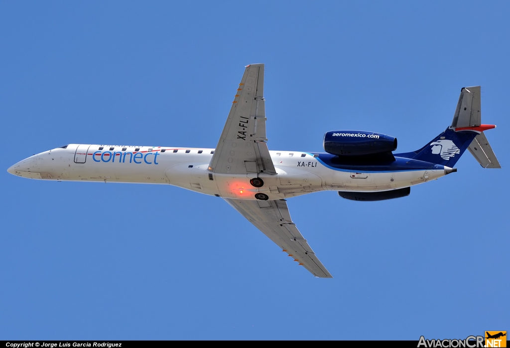 XA-FLI - Embraer ERJ-145MP - Aeroméxico Connect (Aerolitoral)