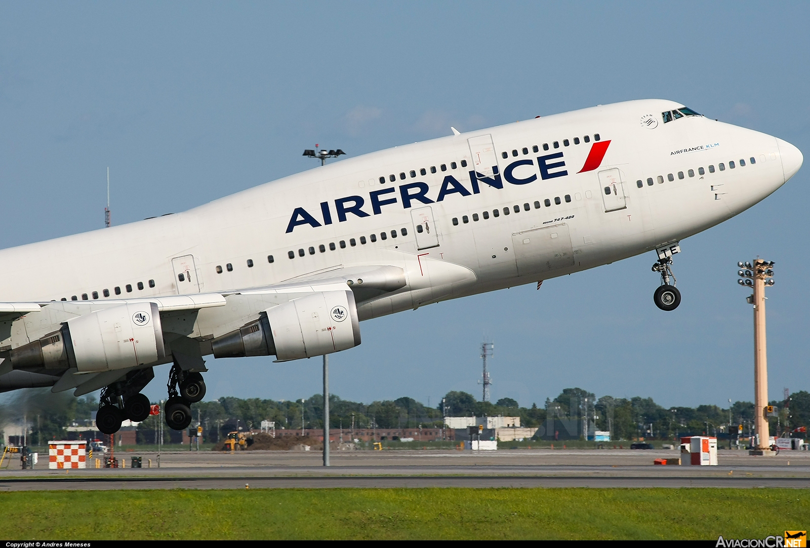 F-GITE - Boeing 747-428M - Air France