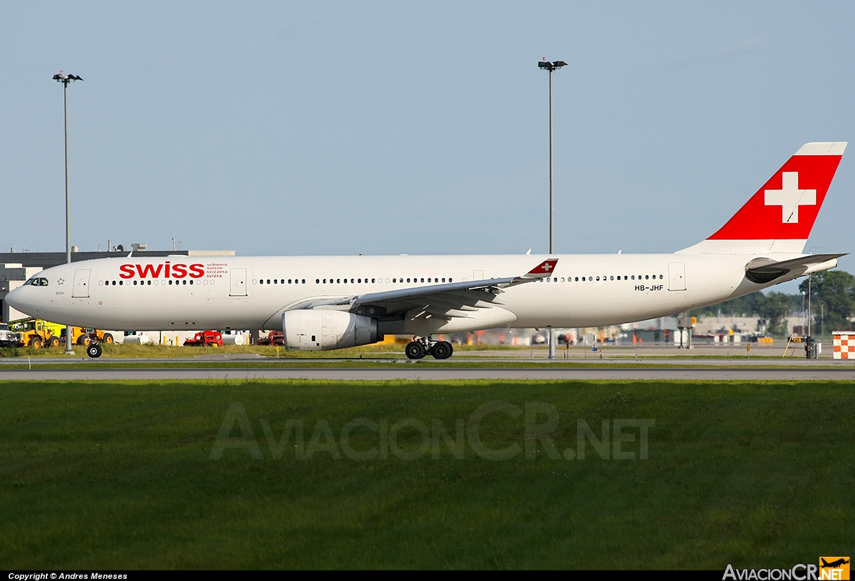 HB-JHF - Airbus A330-343 - Swiss International Air Lines