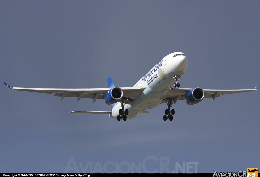OY-VKI - Airbus A330-343X - My Travel Airways