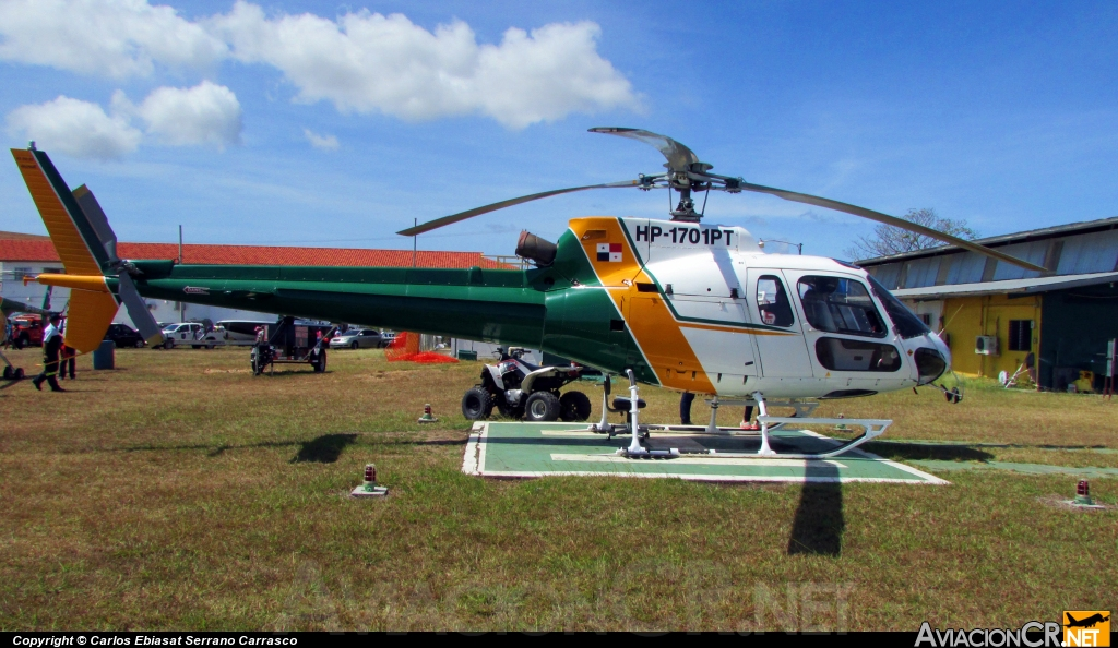 HP-1701PT - Eurocopter AS-350B3 Ecureuil - Privado