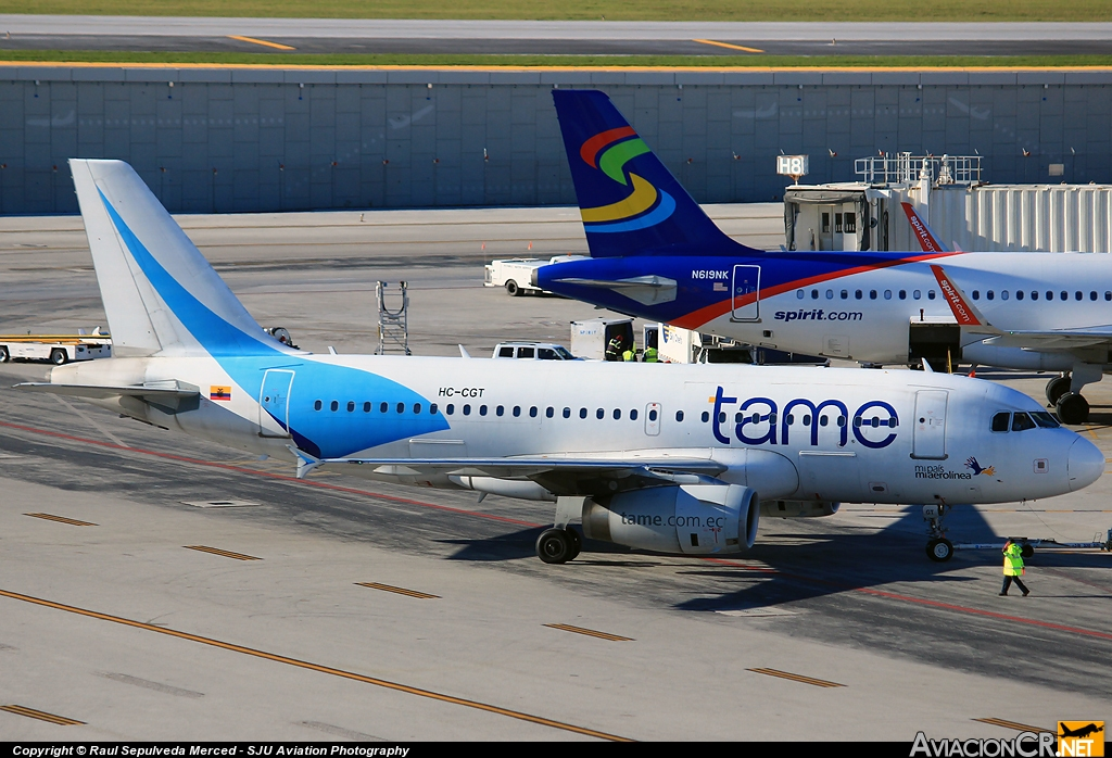 HC-CGT - Airbus A319-132 - TAME