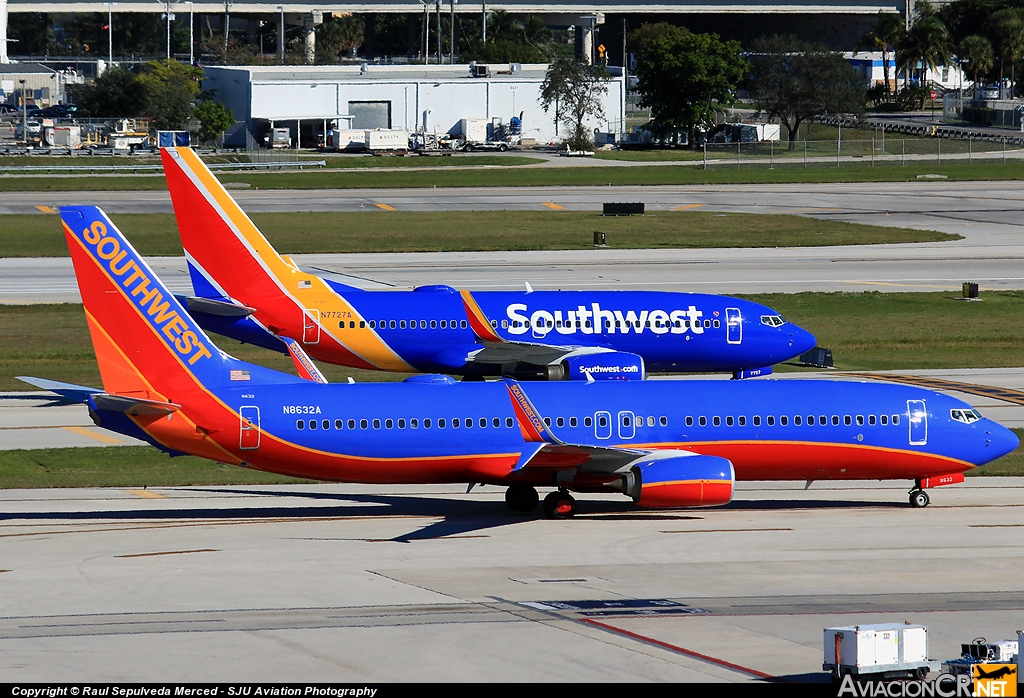N8632A - Boeing 737-8H4 - Southwest Airlines
