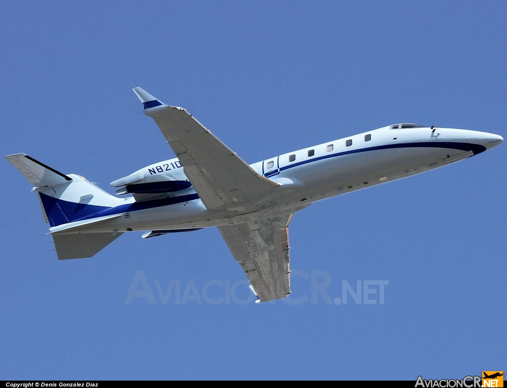 N821DF - Learjet 60 - Privado