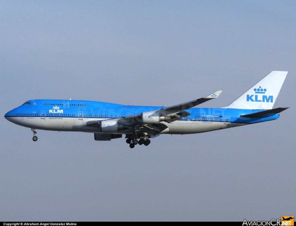 PH-BFD - Boeing 747-406 - KLM - Royal Dutch Airlines