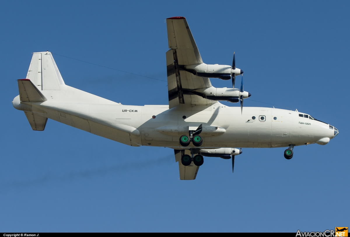 UR-CKM - Antonov An-12BP - CVK - Cavok Air