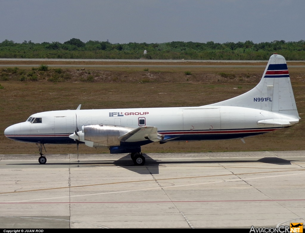 N991FL - Convair CV-580(F) - IFL Group