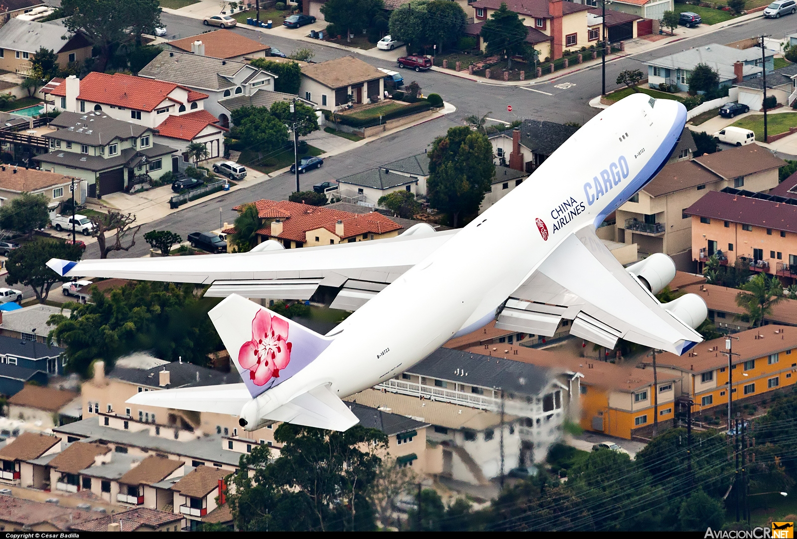 B-18723 - Boeing 747-409F/SCD - China Airlines Cargo