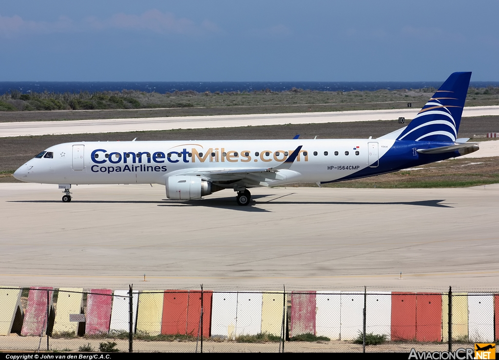 HP-1564CMP - Embraer 190-100IGW - Copa Airlines