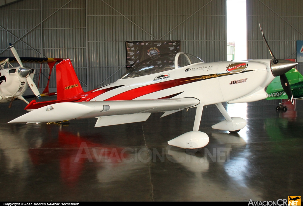 N553KM - Vans RV-8 - Privado