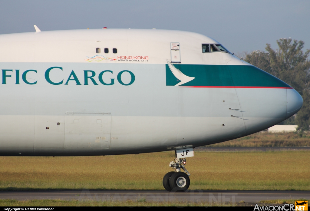 B-LJF - Boeing 747-867F/SCD - Cathay Pacific Cargo