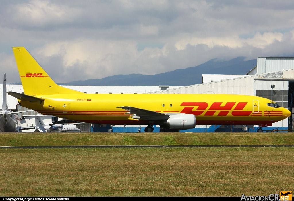 YV567T - Boeing 737-4Q3 - DHL (Vensecar International)