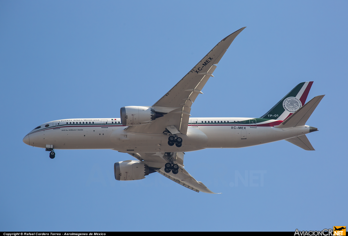 XC-MEX - Boeing 787-8 Dreamliner - Fuerza Aerea Mexicana