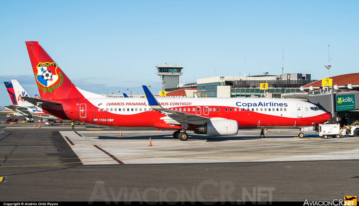 HP-1534CMP - Boeing 737-8V3 - Copa Airlines