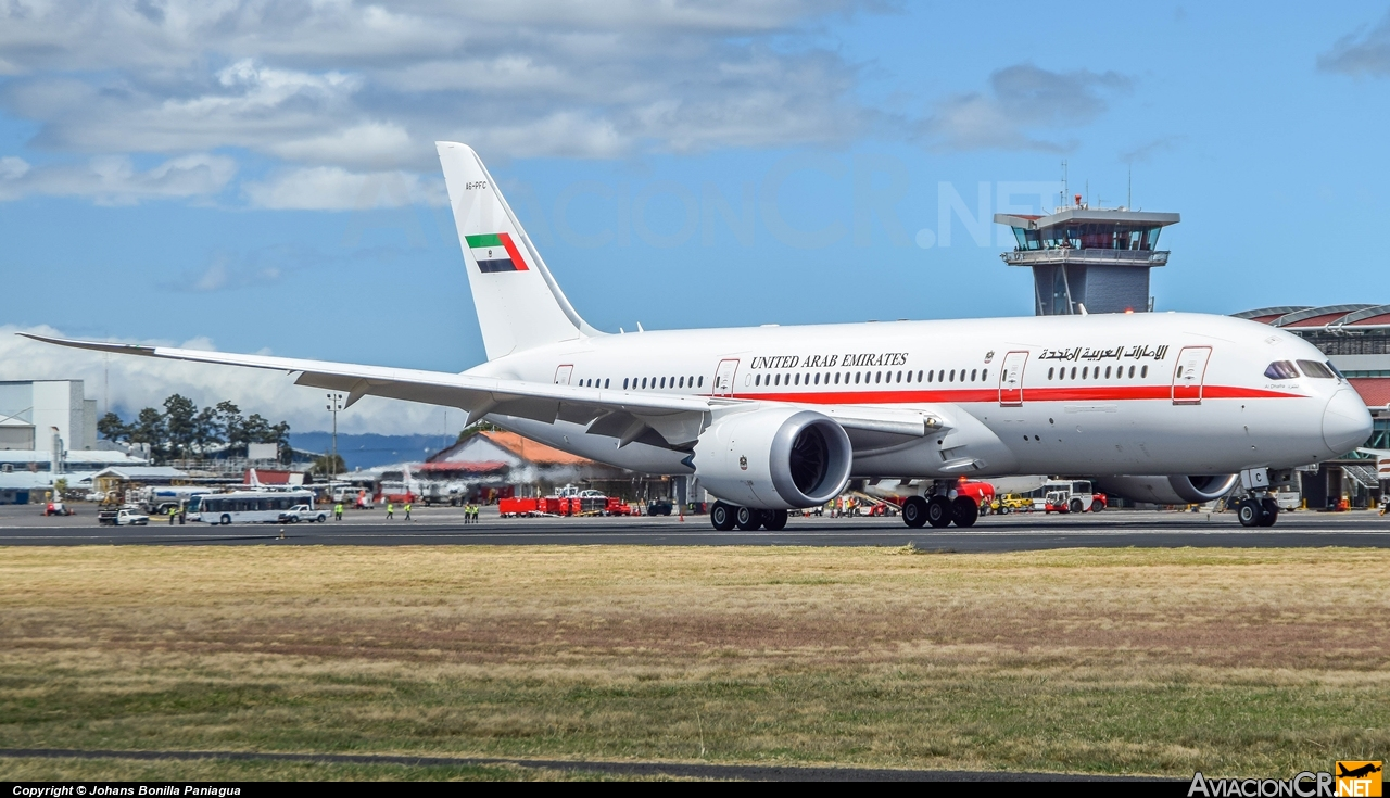 A6-PFC - Boeing 787-8 - United Arab Emirates - Abu Dhabi Amiri Flight