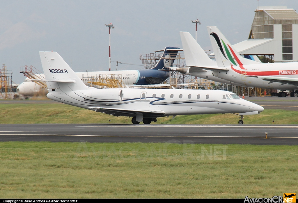 N289KR - Cessna Citation 680 Sovereign - Privado