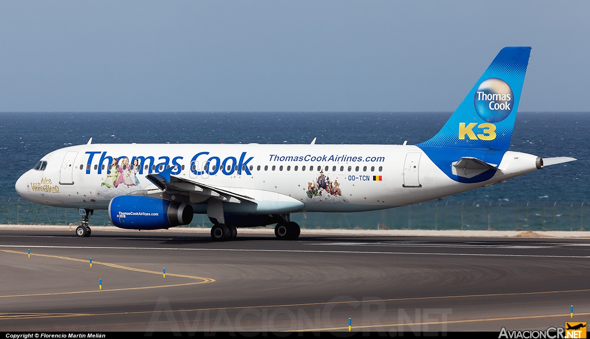 OO-TCN - Airbus A320-232 - Thomas Cook Airlines