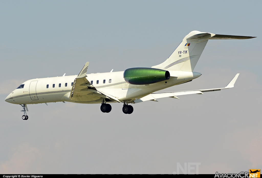 YR-TIK - Bombardier BD-700-1A11 Global 5000 - Tiriac Air