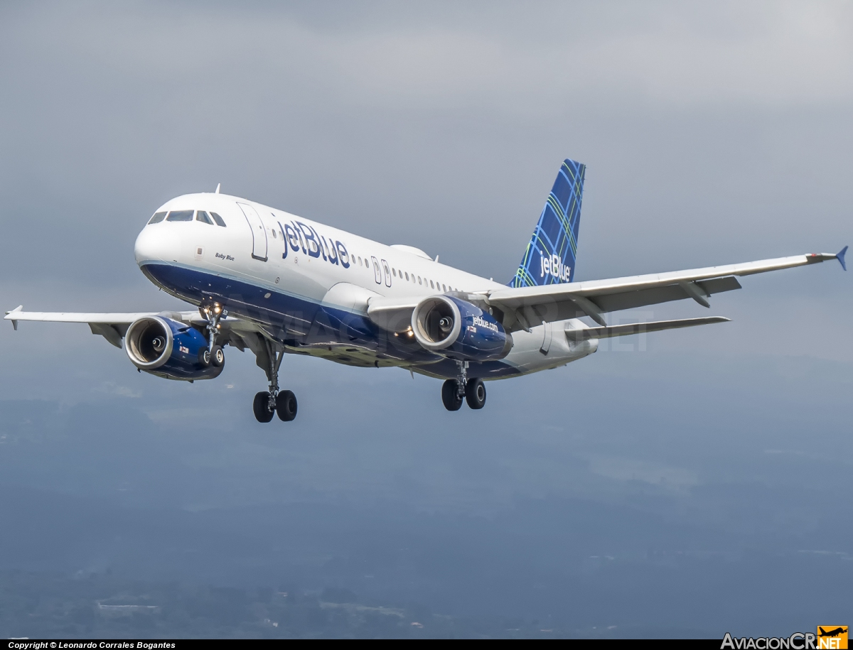 N521JB - Airbus A320-200 - jetBlue Airways