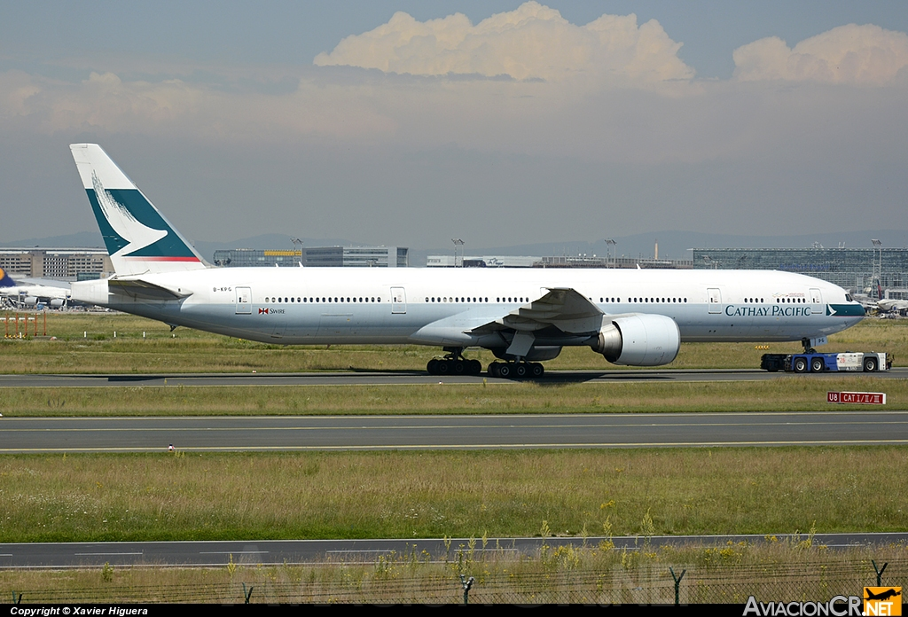 B-KPG - Boeing 777-367/ER - Cathay Pacific
