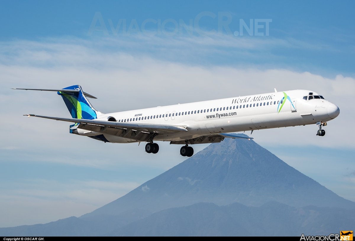 N805WA - McDonnell Douglas MD-83 (DC-9-83) - World Atlantic Airlines