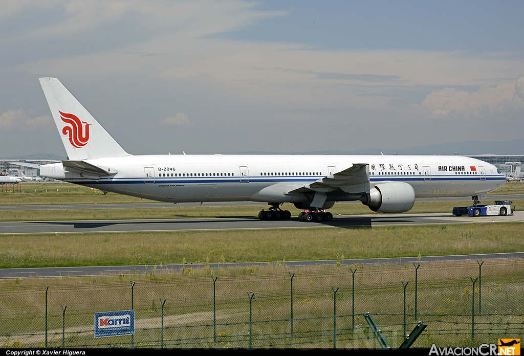 B-2046 - Boeing 777-39LER - Air China