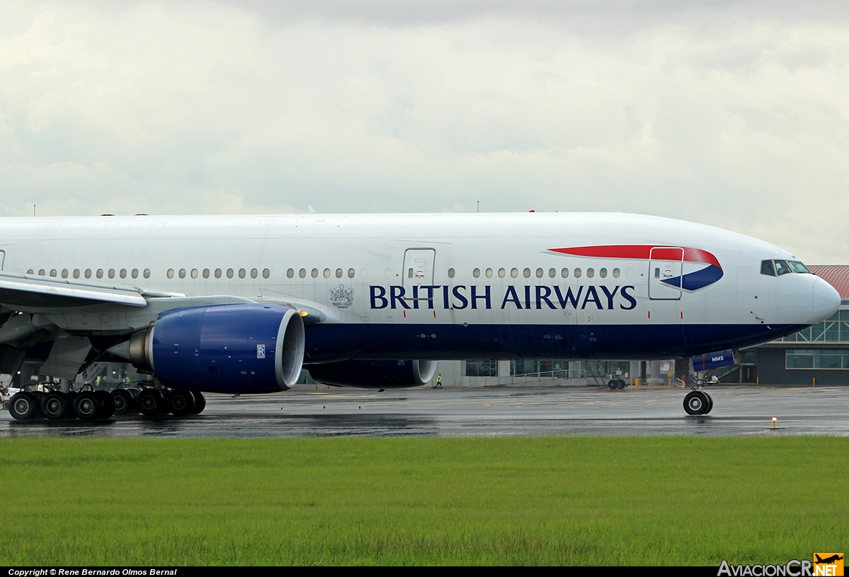 G-YMMS - Boeing 777-236/ER - British Airways
