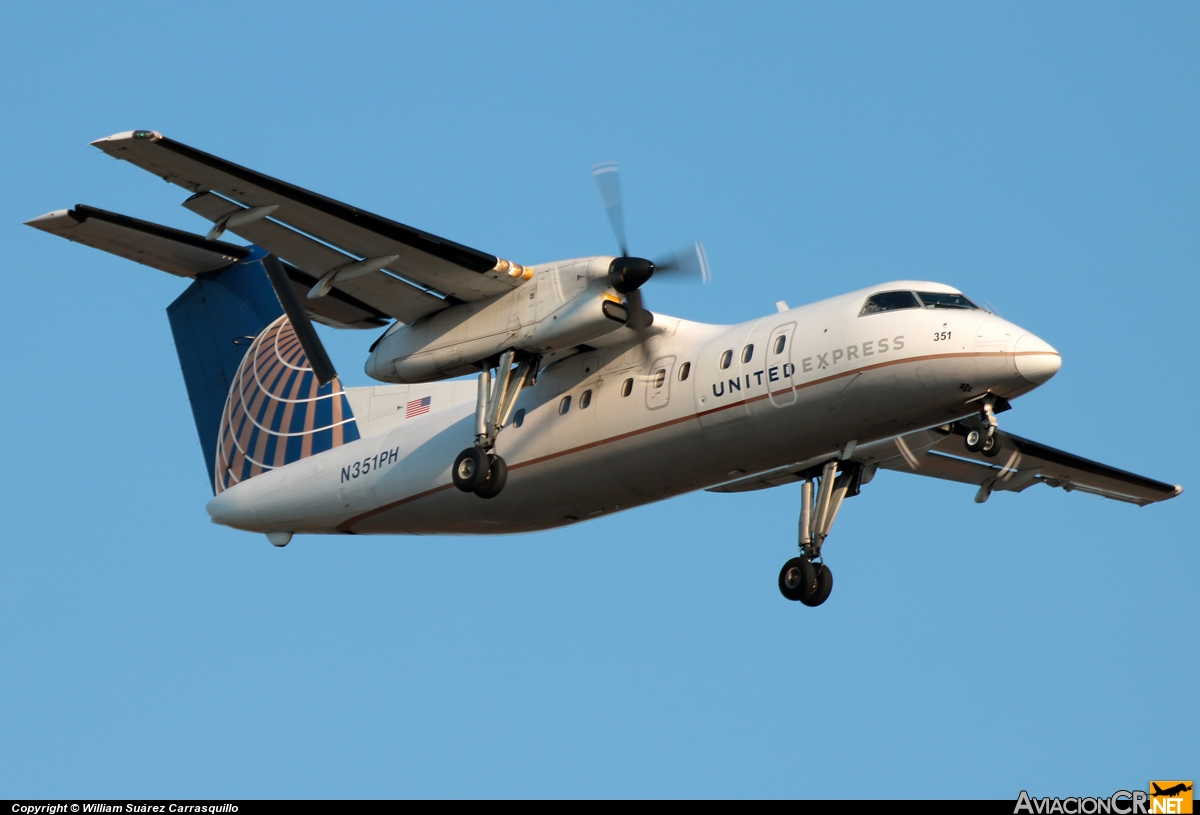 N351PH - Bombardier Dash 8-Q202 - United Airlines Express