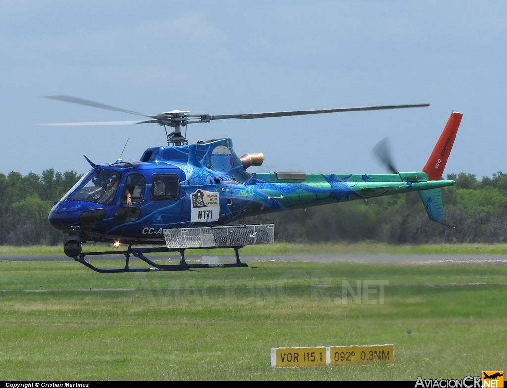 CC-AOZ - Eurocopter AS-350B3 Ecureuil - EcoCopter