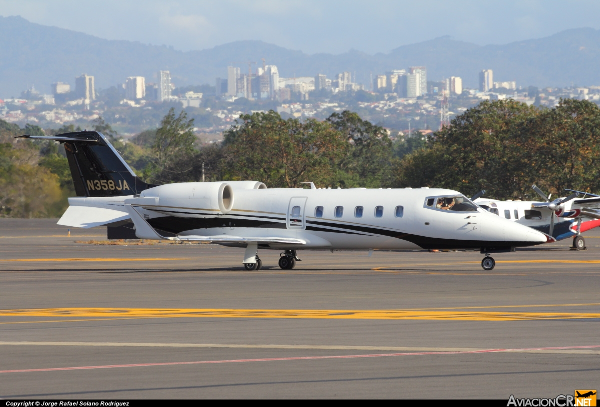 N358JA - Learjet 60 - privado