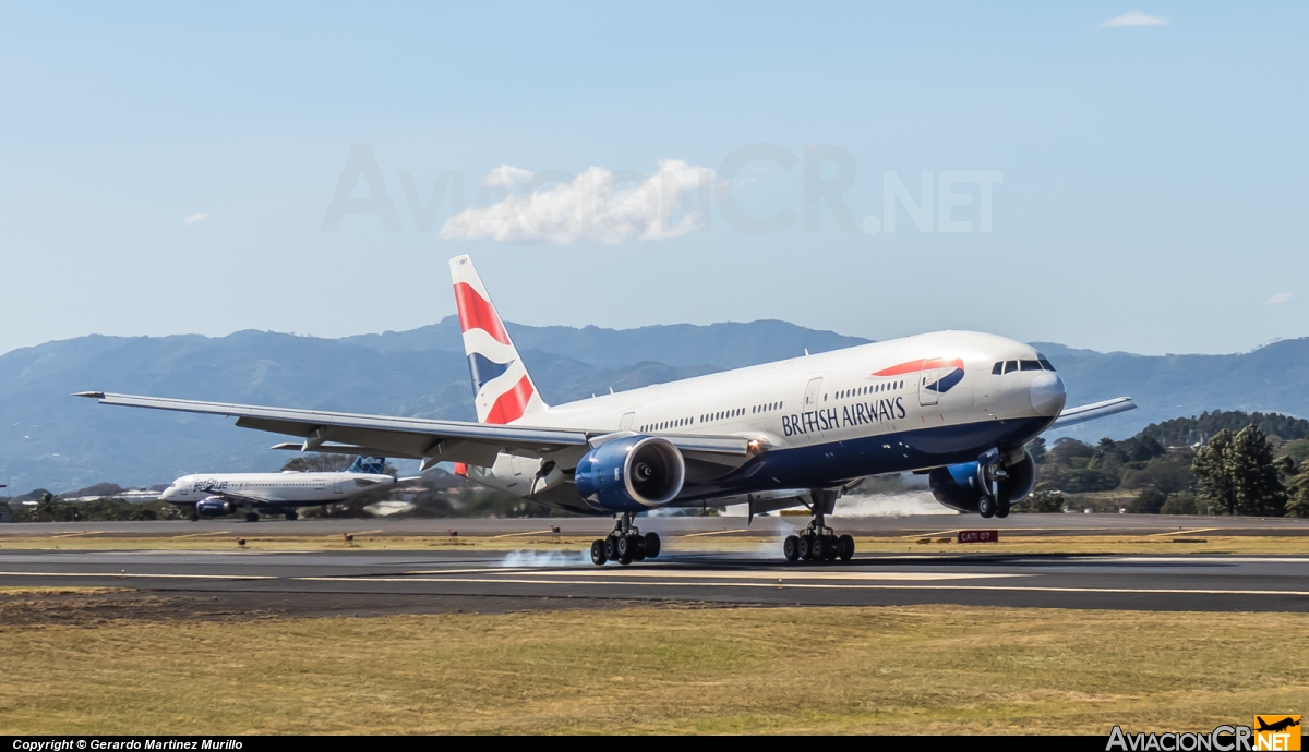 G-YMMT - Boeing 777-236/ER - British Airways