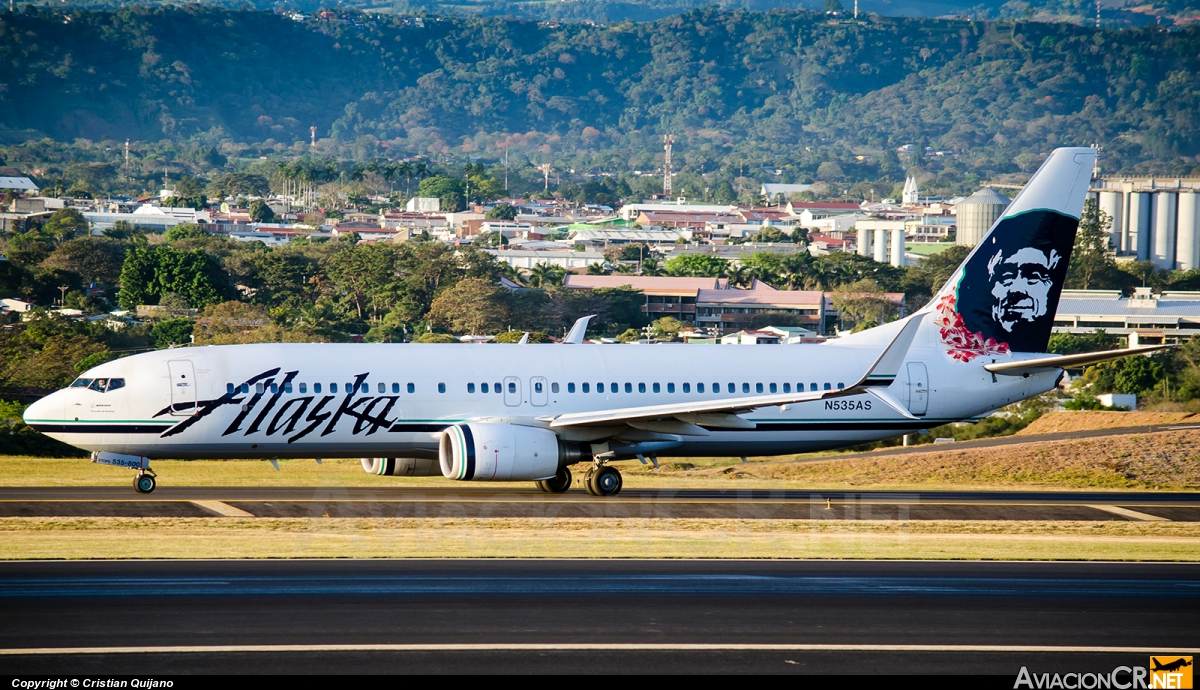 N535AS - Boeing 737-890 - Alaska Airlines